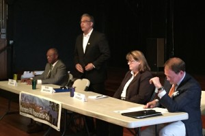 Sheriff candidate debatte at PHDC